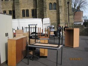 Accumulating furniture in Sheffield