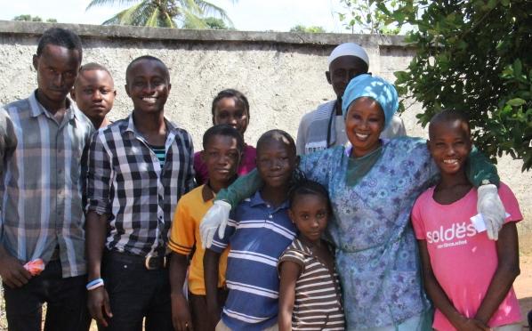 Happy people helped by Makeni Trust Fund
