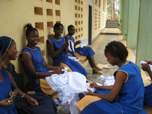 Students receive vocational training at St Joseph's