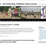 University of Makeni website
